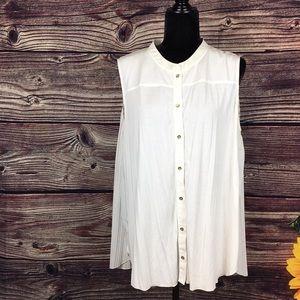 Calvin Klein Women's XL blouse vest